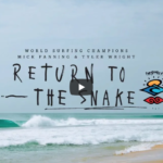 Ain't No Wave Pool, Mick Fanning and Tyler Wright return to The Snake | #TheSearch by Rip Curl