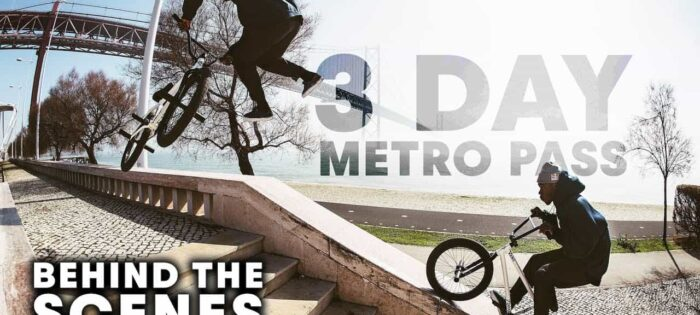 Behind the scenes of the BMX Street World Tour | 3 Day Metro Pass