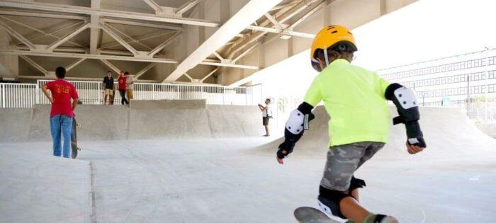 Inaugurato a Bari lo skatepark indoor più grande d'Italia