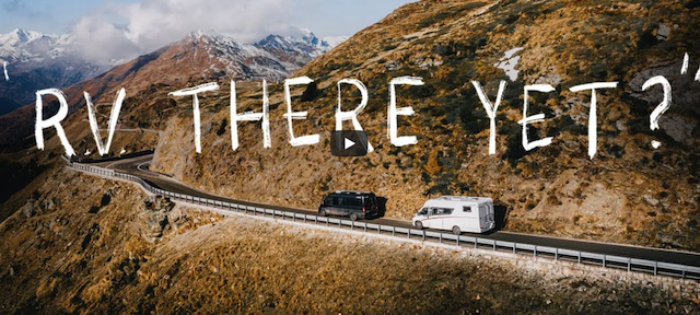 R.V. THERE YET? | A Snowboard Road Trip