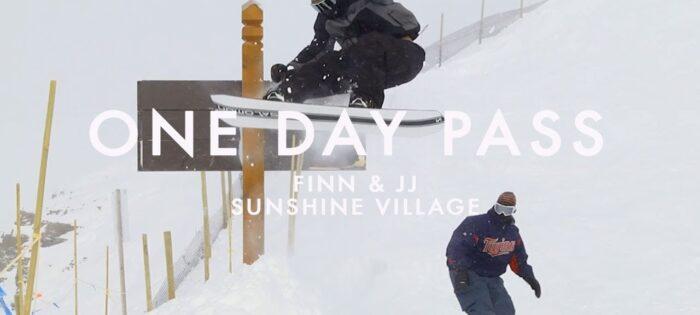Salomon Snowboards – ONE DAY PASS Finn & JJ at Sunshine Village