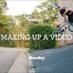 erik elstran sunday bikes selfstran making up a video