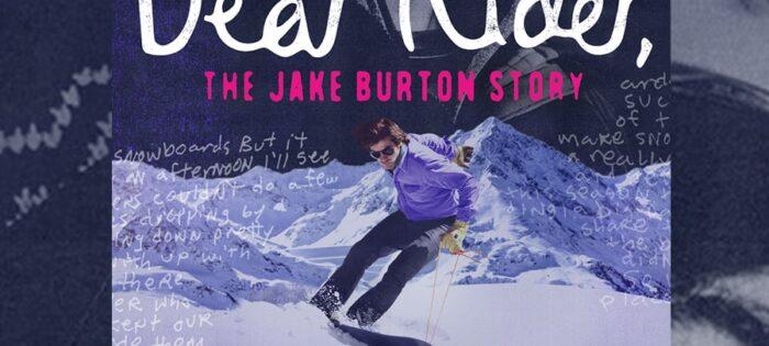 """Il 9 Novembre debutta il documentario di Jake Burton Carpenter """"DEAR RIDER"""""""