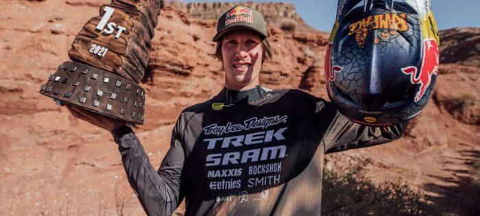 Brandon Semenuk diventa il primo vincitore per 4 volte della Red Bull Rampage