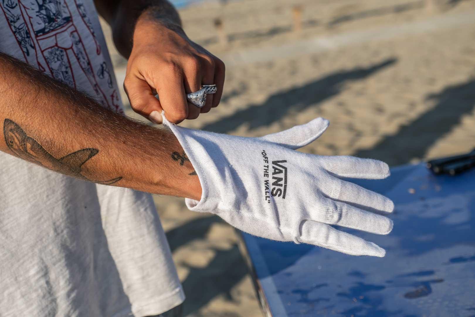 VANS BEACH CLEANING